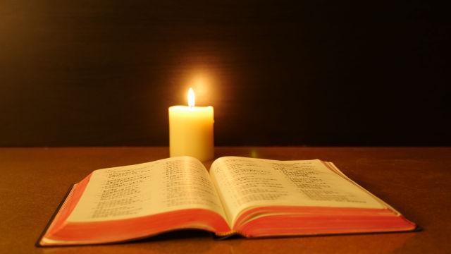 聖經-蠟燭