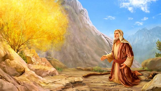 神呼召摩西