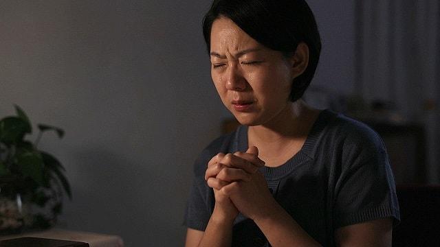 基督徒,禱告,哭,癌症,流淚
