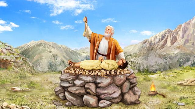 從亞伯拉罕獻以撒來看他身上的閃光點
