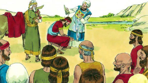 所羅門王的故事:所羅門被立為王